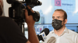 Distryct conferenza stampa